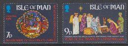 Isle Of Man 1981 Christmas / Weihnachten 2v ** Mnh (42921F) - Man (Eiland)