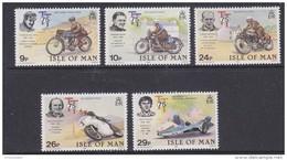 Isle Of Man 1982 TT Races 5v ** Mnh (42921G) - Man (Eiland)