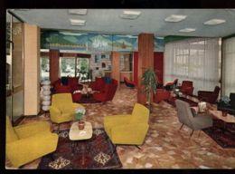 C1225 ABANO TERME - TERME HOTEL ALBERGO ASTORIA, INTERNO VG 1966 - Andere Städte