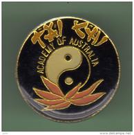 TAI CHI *** ACADEMY OF AUSTRALIA *** 1009 - Judo