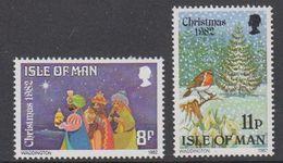 Isle Of Man 1982 Christmas / Weihnachten 2v ** Mnh (42921P) - Man (Eiland)