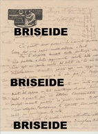 CARTA INTESTATA 1917 SCUOLA DI PITTURA E D'INCISIONE MARFORI SAVINI BORGO SS. APOSTOLI FIRENZE - Manoscritti