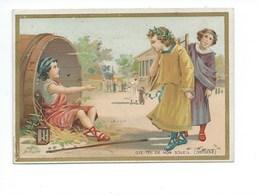 Diogène Et Alexandre Le Grand Ôte-toi De Mon Soleil Didactique Ss Pub. 2 Scans - Chromos