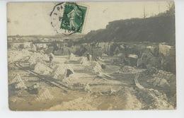 SAINT CHÉRON - Belle Carte Photo Montrant Les Carrières En 1911 - Saint Cheron