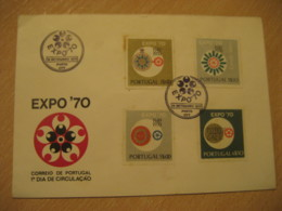 PORTO 1970 Expo 70 FDC Cancel Cover PORTUGAL - 1910-... République