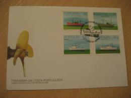 LISBOA 1994 Traineras Fishing Ships FDC Cancel Cover PORTUGAL - 1910-... República
