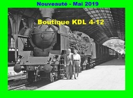 AL 574 - Train Le Mistral - Loco Pacific PLM 231 G En Gare De NICE - Alpes Maritimes - SNCF - Transport Ferroviaire - Gare