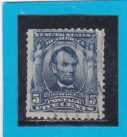 Etats-Unis  Y & T   N° 148   - 1902-03  -   A. LINCOLN     -  Oblitéré - United States
