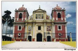 1 AK Nicaragua * Die Kirche El Calvario De Leon - Erbaut Ab 1810 In Der Stadt Leon * - Nicaragua