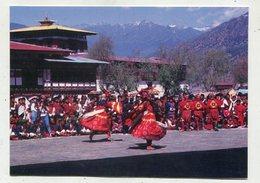 BHUTAN - AK 350808 Paro - Mask Dancer During Paro Tsehun - Butan