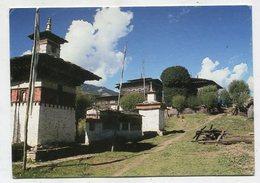 BHUTAN - AK 350810 Bumthang - Stupas In Ugen Choling - Butan