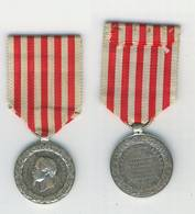 NAPOLEON III MEDAILLE CAMPAGNE D'ITALIE 1859. ARGENT. ETAT TTB/SUP. - Medals