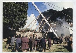 BHUTAN - AK 350811 Bumthang - Anual Flag Raising Ceremony - Ugen Choling Naktsang - Butan