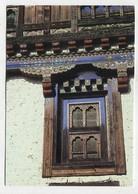 BHUTAN - AK 350812 Bumthang - Window Frame - Ugen Choling Naktsang - Butan