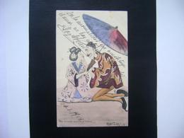 CPA Chine Asie China Illustrateur Reg CARTER I Circulated In 190? Satirique Caricature IN THE STATE - Künstlerkarten