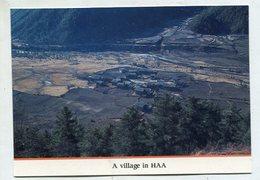 BHUTAN - AK 350815 A Village In Haa - Bhoutan