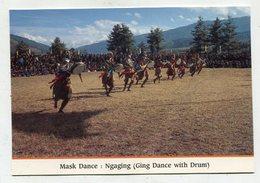 BHUTAN - AK 350816 Mask Dance - Ngaging - Butan