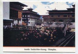 BHUTAN - AK 350823 Thimphu - Inside Tashichho-Dzong - Butan