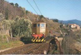 TCS 04/9 FS Treno Regionale Savona - Fossano Pesso Santuario (SV) Railroad Train Railweys Treni TCS4 - Gares - Avec Trains