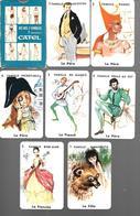BJ45 - JEU DES 7 FAMILLES CATEL - 7 EPOQUES - Jeux De Société