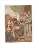 Charlemagne Impôts La DIME Bien 105 X 80 Mm Didactique  2 Scans - Trade Cards