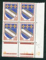 Lot C350 France Coin Daté Blason N°1353 (**) - Coins Datés