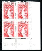 Lot C847 France Coin Daté Sabine N°2059 (**) - Unclassified