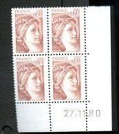 Lot C919 France Coin Daté Sabine N°2119 (**) - Unclassified