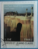 France 2009 : Série Artistique. Le Pont-Neuf à Paris, Empaqueté Par Christo Et Jeanne-Claude N° 338 Oblitéré - Adhesive Stamps