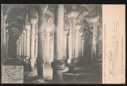 KONSTANTINOPEL -    LES MILLE ET UNE COLONNES  STAMBOUL   1905  2 SCANS - Turquie