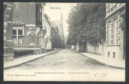 +++ CPA - Brussel - BERCHEM - Basilique Du Sacré Coeur - Avenue De Mérode   // - Berchem-Ste-Agathe - St-Agatha-Berchem