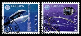 Suisse 1991 Mi.Nr: 1444-1445 Europa  Oblitèré / Used / Gebruikt - Gebruikt