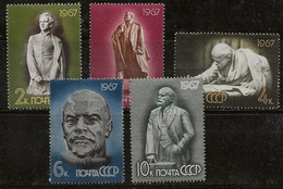 Russie 1967 N° Y&T :   3215 à 3219 ** - Unused Stamps