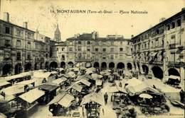 82 - MONTAUBAN / PLACE NATIONALE / A 446 - Montauban