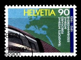 Suisse 1992 Mi.Nr: 1488 Zentralamt Für Den...  Oblitèré / Used / Gebruikt - Gebruikt