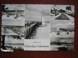 """Scharbeutz (Ostholstein) - Mehrbildkarte """"Gruß Aus Ostseebad Scharbeutz"""" / Nachgebühr, Nachporto, Nachtaxiert Wien - Scharbeutz"""