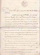 ESCRITURA DE VENTA DE INMUEBLE DE LA REMOTA VILLA DE BAÑOS DE CUNTIS PONTEVEDRA AÑO 1861 EN 4 FOJAS - BLEUP - Documentos Históricos
