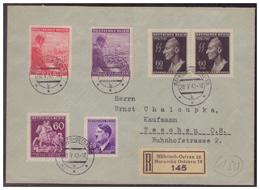 Böhmen Und Mähren (008016) Einschreiben Mit MNR 93,113, 126/ 127 Und2 X 131 Als FDC Gelaufen Mährisch-Ostrau - FDC