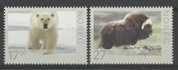 NORWAY  2011  WILDLIFE,ANIMALS,POLAR BEAR,MUSK OX  SET  MNH - Sin Clasificación