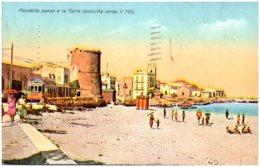 MONDELLO Paese E La Torre Costuita Verso Il  700 - Palermo