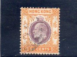 HONG KONG 1911 O - Usati