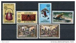 Andorra 1976. Completo ** MNH. - Ungebraucht