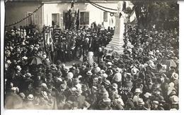 CARTE-PHOTO  De  JONCY  (71)  -  Joncy N° 4 - Inauguration Du Monument Aux Morts    //    TBE - Frankrijk
