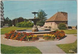 Haute  Savoie :  THONON Les  BAINS ,   Fontaine    Fleurie  1978 - Thonon-les-Bains