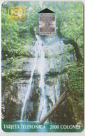 #10 - COSTA RICA-17 - WATERFALL - 80.000EX. - Costa Rica