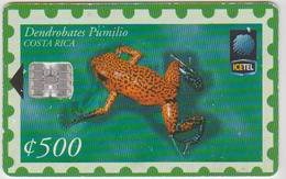 #10 - COSTA RICA-18 - FROG - 184.400EX. - Costa Rica