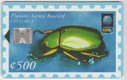 #10 - COSTA RICA-20 - INSECT - 265.000EX. - Costa Rica