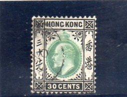 HONG KONG 1903 O - Hong Kong (...-1997)