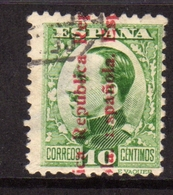 SPAIN ESPAÑA SPAGNA 1930 KING ALFONSO XIII RE CENT. 10c USATO USED OBLITERE' - 1889-1931 Regno: Alfonso XIII