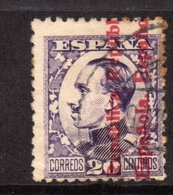 SPAIN ESPAÑA SPAGNA 1930 KING ALFONSO XIII RE CENT. 20c USATO USED OBLITERE' - 1889-1931 Regno: Alfonso XIII